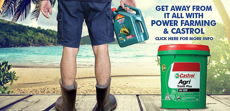 Get away from it all with Power Farming and Castrol