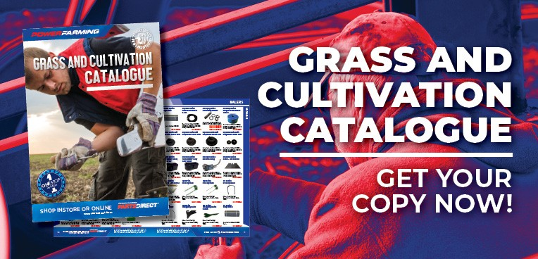 Get your copy of our latest Grass & Cultivation Catalogue from a dealer today.