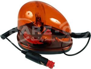 Picture of 12V Portable Revolving Amber Beacon - B7715
