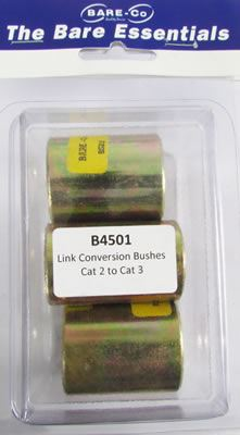 Picture of Bare Essentials Cat 2 - Cat 3 Coversion Bushes (Qty 3) - B4501