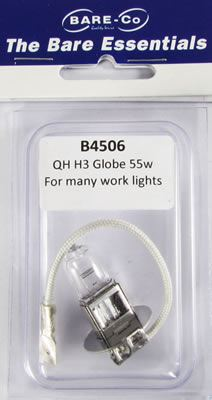 Picture of Bare Essentials 12v 55W Halogen H3 Bulb - B4506