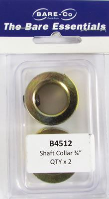"Picture of Bare Essentials 3/4"" Shaft Lock Collar (Qty 2) - B4512"