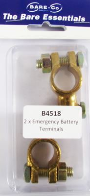 Picture of Bare Essentials Solderless Battery Terminal (Qty 2) - B4518