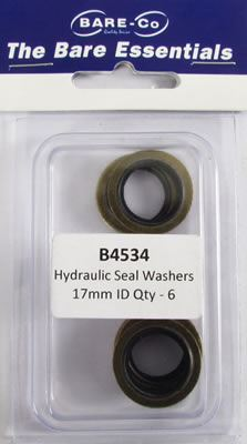 "Picture of Bare Essentials 3/8"" BSP Bonded Seal Washer (Qty 6) - B4534"