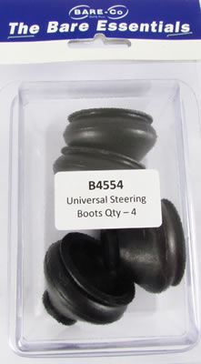 Picture of Bare Essentials Universal Steering Boots (Qty 4) - B4554