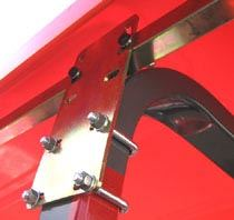 "Picture of Mounting Kit Standard Canopy/Hoop Rop (4""/5""/6"" Leg) - B4620"