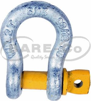 Picture of Forged Heavy Duty Bow Shackle 10mm - B2061
