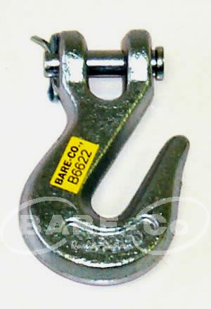 "Picture of Clevis Grab Hook 1/2""  - B6624"