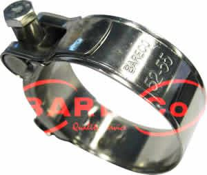 """Picture of Stainless T Bolt Clamp 80-85mm 3.149""""-3.35"""" - B4283"""