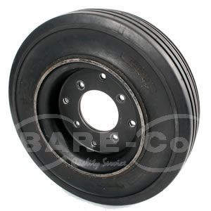 "Picture of HD Solid Cushion Tyre with Wheel 4.00X8"" - B6421"