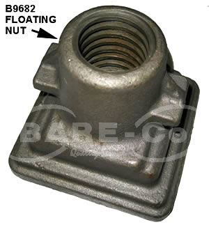 Picture of Floating Nut for B9696 Implement Jack - B9682