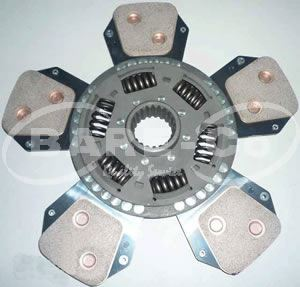 Picture of Ceramic Clutch Plate 327mmx45mm 21SPL for Deutz Models - B9231