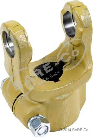 "Picture of Round Bore Clamp Yoke 1 1/2""x1/4+3/8"" Imperial (4/W210 Series) - AE421338"