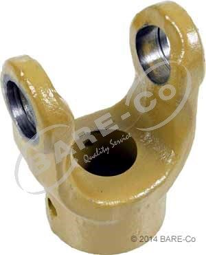 """Picture of Round Bore Shear Pin Yoke 1 3/8"""" (6 Series) - AE622035S"""