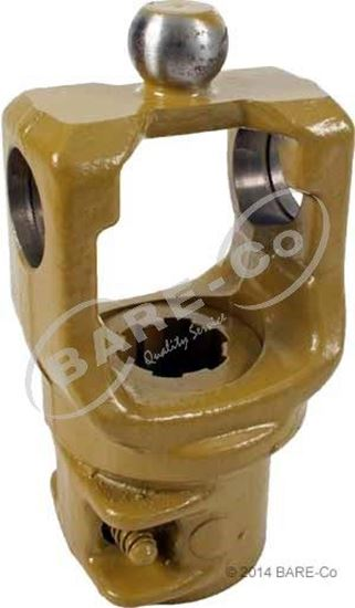 Wide Angle Quick Release End Yoke