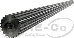 "Picture of Splined Shaft 1 3/4""x20SPLx39"" - B9657"