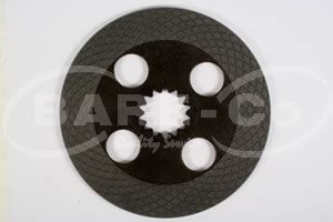 Picture of Brake Disc  for 850-1300 Fiat Models - B2867
