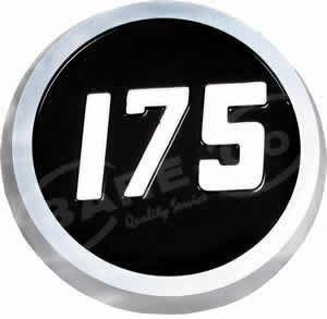 Picture of Bonnet Medallion Plastic for 175 MF Model - B222