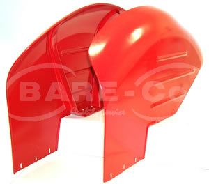 Picture of Pair of Curved Safety Type Mudguards - B3281