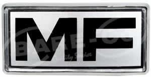 "Picture of ""MF"" Front Emblem for MF Models - B441"