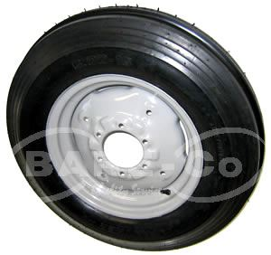 "Picture of Rim fitted with 6.00x16"" Tyre - B8807"