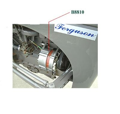 Picture of Alternator Conversion Kit - B8810