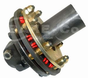 "Picture of Heavy Duty Cushion Coupling 1 3/4""X20SPL Fm/Fm Clockwise - B6500"