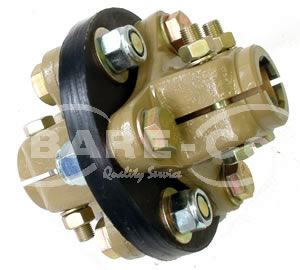 "Picture of Flexible Nylon Disc Coupling  1 3/8""x 6SPL - B6607"