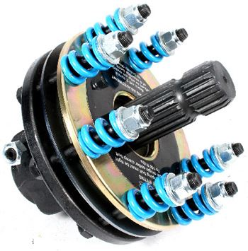 "Picture of Blue Torque HD Safety Clutch 8"" (150HP)  1 3/4""Fm 6SPLx 1 3/8""M 20SPL - B7246"