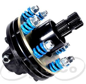 "Picture of Blue Torque HD  O'Run Safety Clutch 8"" (150HP) 1 3/4""x20SPL  - B7252"