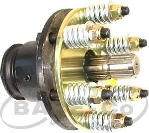 "Picture of O'Run and Safety Clutch Assembly 6"" (40HP) 1 3/8""x6SPL - B9164"