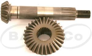 Picture of Set of Gears for Gearbox 40HP (1:1.93) - B7014