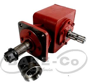 Picture of 50HP Roller Bearing Slasher Gearbox (1:2.83) - B2664