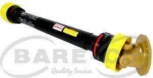 Picture of HD PTO Shaft with Clutch Flange Yoke 1m 6Sp (8 Series) - HB8105