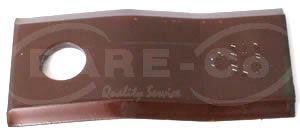 Picture of Step Down Mower Blade 108mmx50mmx4mm (6mm) - B5376