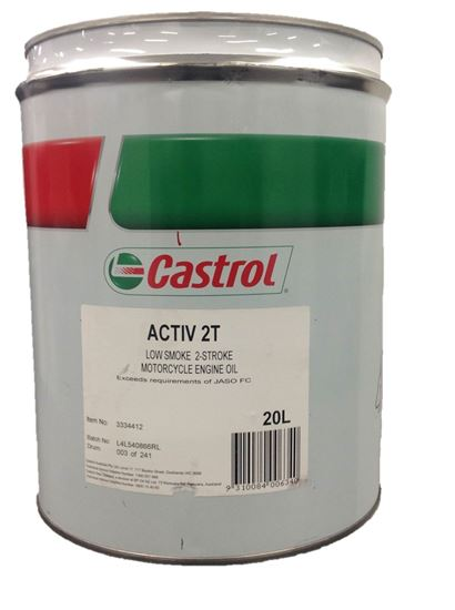 Picture of Castrol ACTIV 2T (20 ltr) - 3334412
