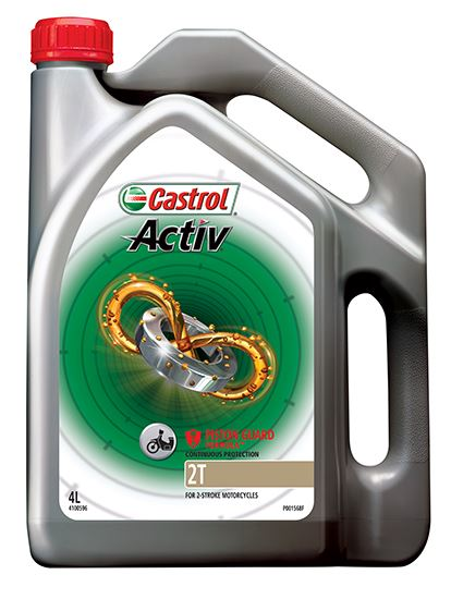 Picture of Castrol ACTIV 2T (4 ltr) - 4100596