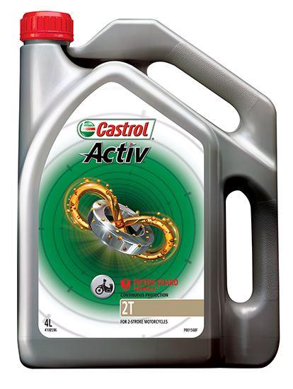 Picture of Castrol ACTIV 2T (4 ltr) - 4100596