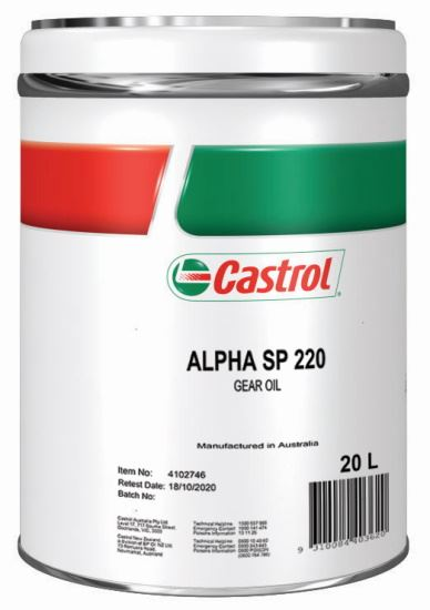 Picture of Castrol ALPHA SP 220 (20 ltr) - 4102746