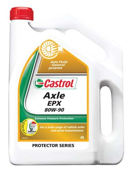 Picture of Castrol AXLE EPX 80W-90 (4 ltr) - 3375405