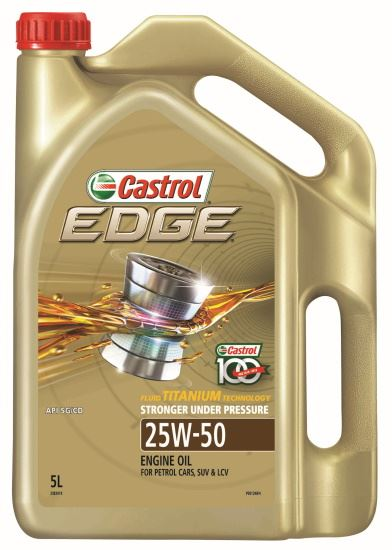 Picture of Castrol EDGE 25W-50 (5 ltr) - 3383419
