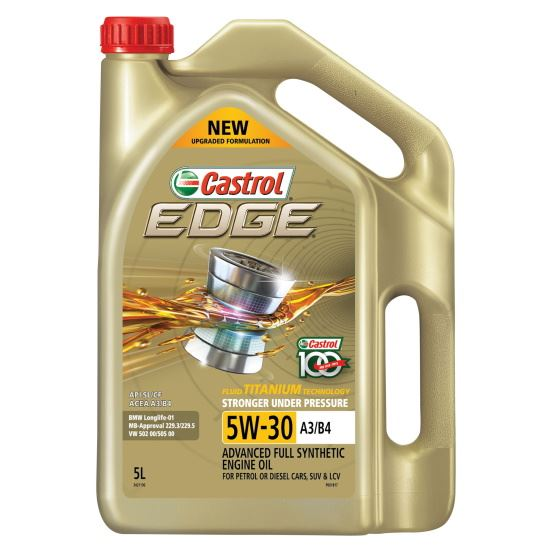 Picture of Castrol EDGE 5W-30 A3/B4 (5 ltr) - 3421196
