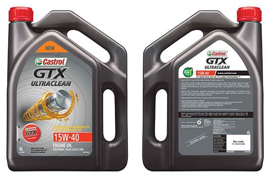 Picture of Castrol GTX ULTRACLEAN 15W-40 (4 ltr) - 3414905