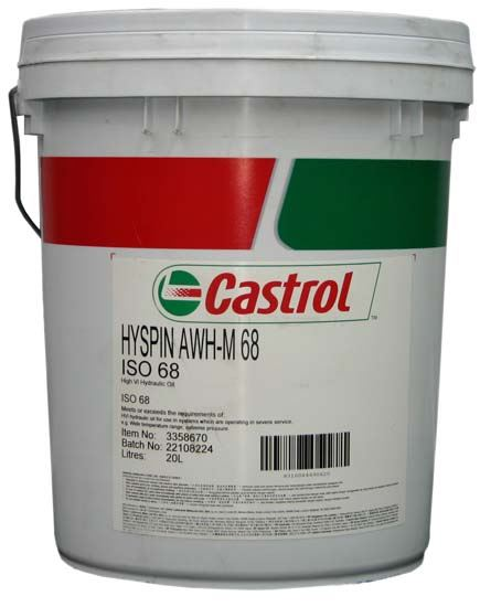 Picture of Castrol HYSPIN AWH-M 68 (20 ltr) - 3374828