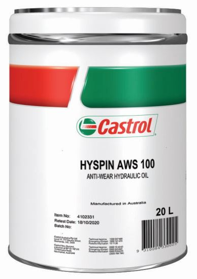 Picture of Castrol HYSPIN AWS 100 (20 ltr) - 4102331
