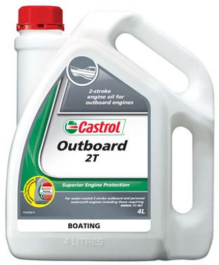Picture of Castrol OUTBOARD 2T (4 ltr) - 3377729