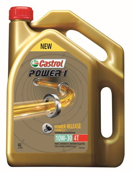 Picture of Castrol POWER 1 4T 10W-30 (4 ltr) - 3418650