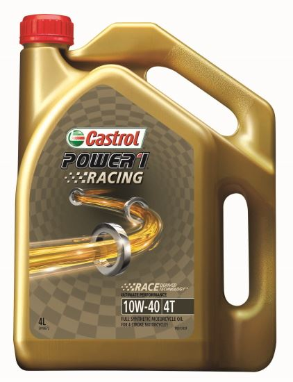 Picture of Castrol POWER 1 RACING 4T 10W-40 (4 ltr) - 3418672