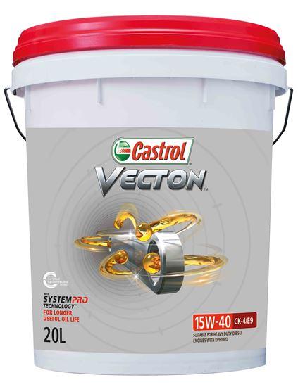 Picture of Castrol VECTON 15W-40 CK-4/E9 (20 ltr) - 3419919