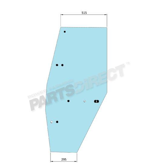 Picture of LH Door Glass - MI-SG11002
